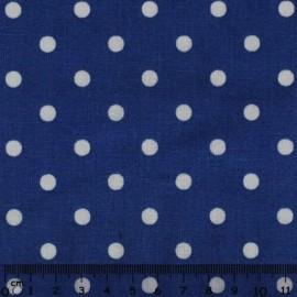 White dots in Dark Blue