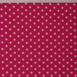 Graffic Dots Cerise 8mm