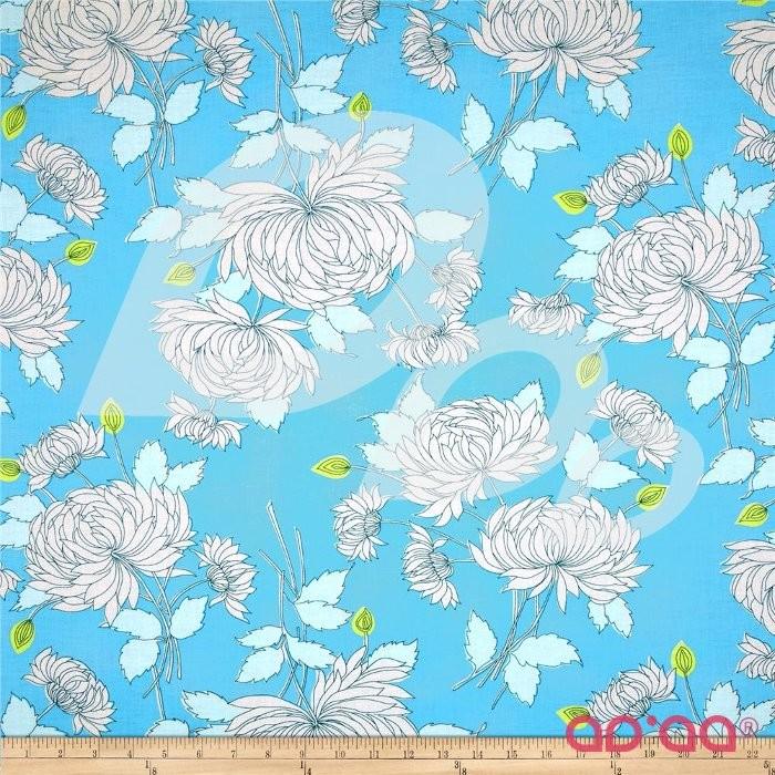 Belle Chrysanthemum Blue
