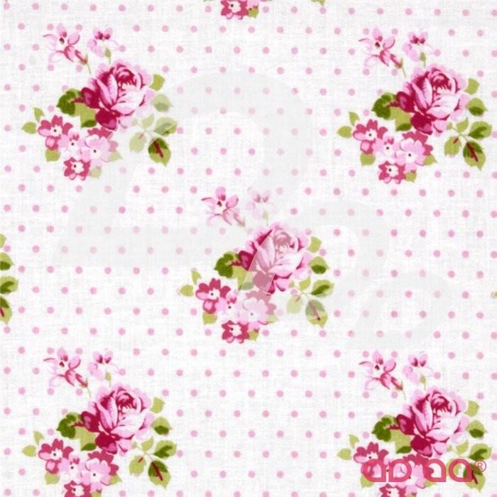 Sunshine Roses Hanky Rose Pink