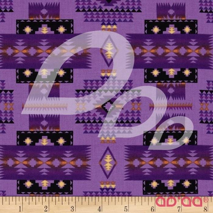 Tucson Blanket Purple