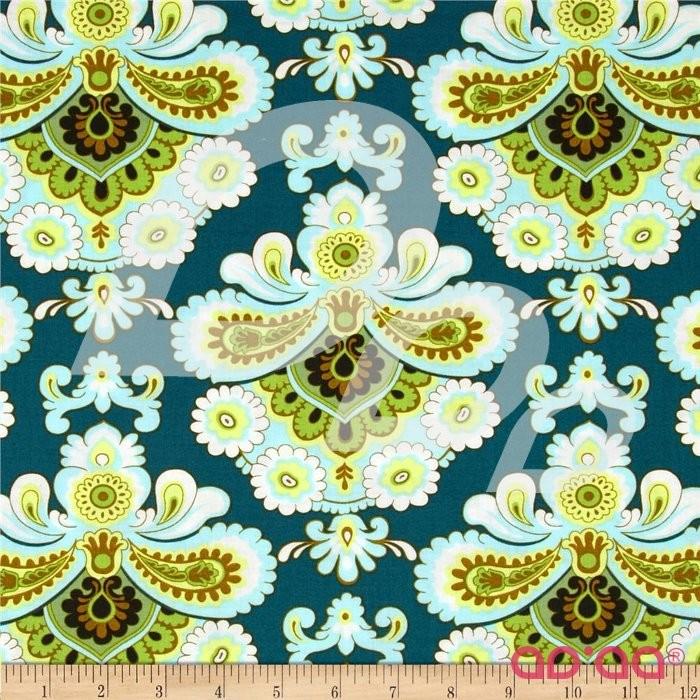 Belle French Wallpaper Spruce