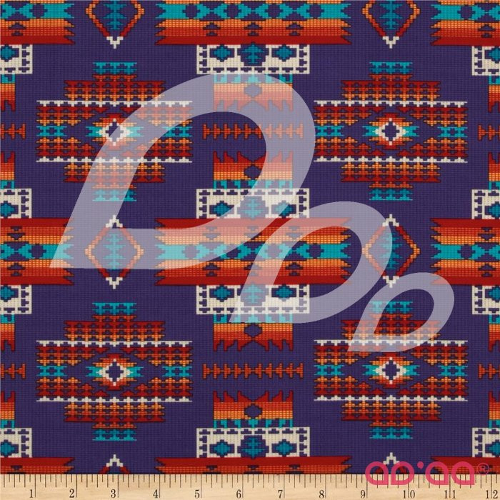 Tucson Beaded Blanket Purple