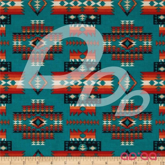 Tucson Beaded Blanket Teal