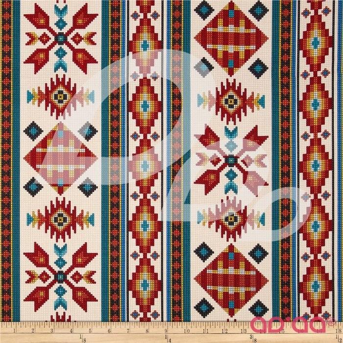 Tucson Beaded Stripe Cream