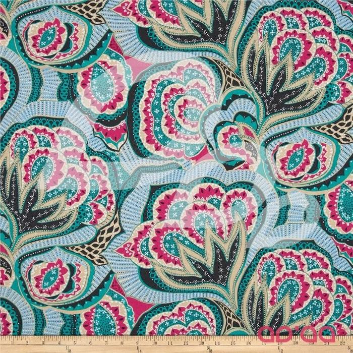 Hapi Linen Blend Oasis Rose