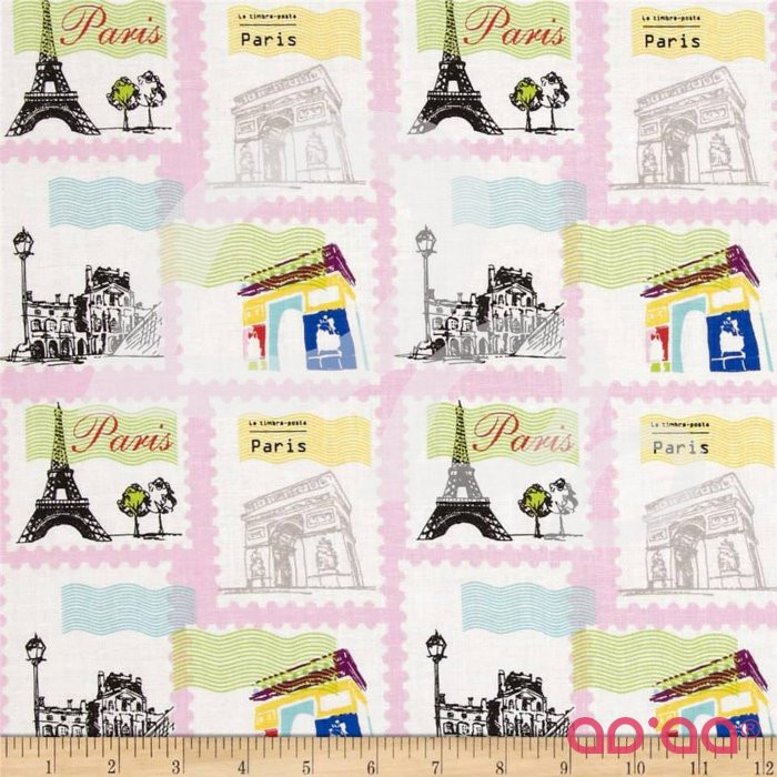 Pepe in Paris Stamp Pink