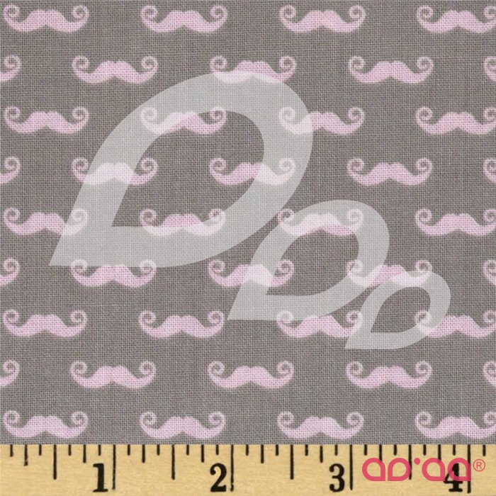 Pepe in Paris Geekly Small Mustache Grey