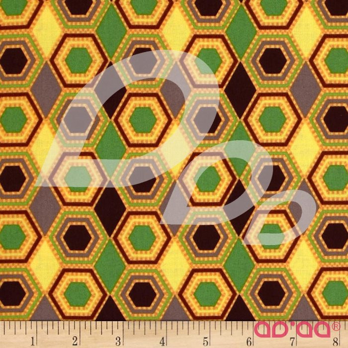 Swoon Honeycombs and Diamonds Yellow/Multi