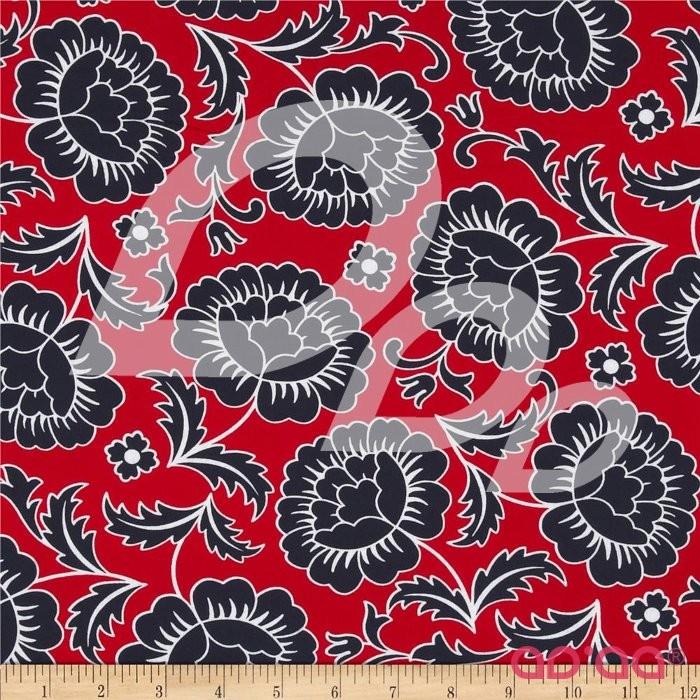 Kanvas Catalina Rose Red/Navy