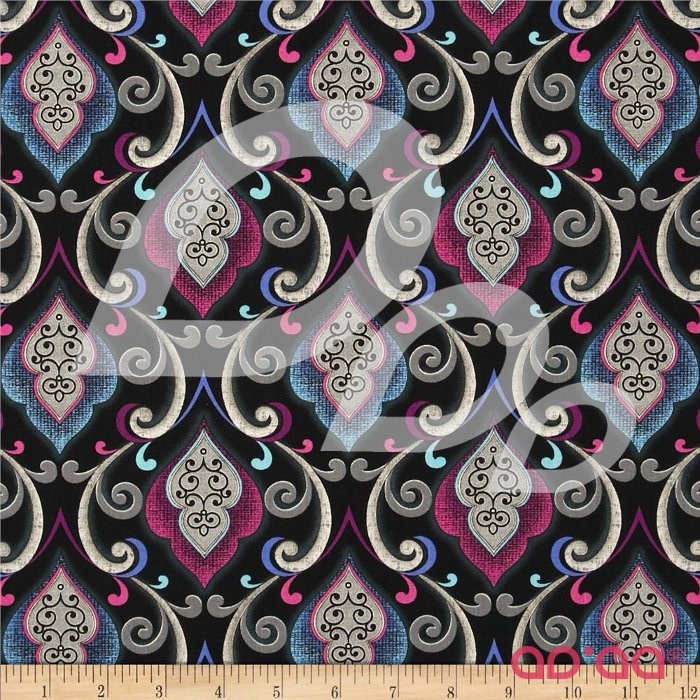 Urban Oasis Oasis Tapestry Plum/Blue