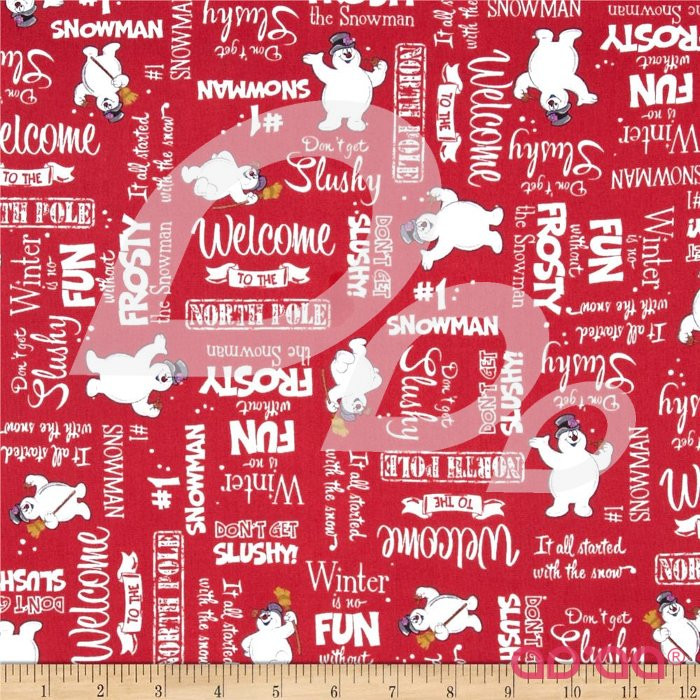 Fun with Frosty Frosty & Words Red