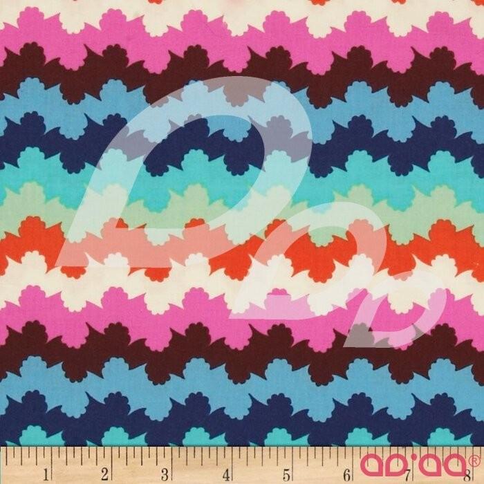 Amy Butler Violette Organic Stripe Midnight