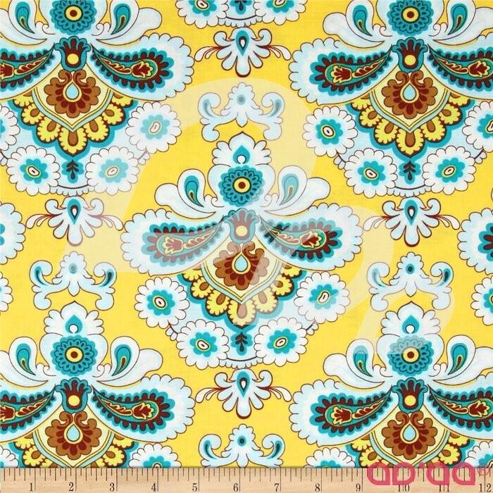 Amy Butler Belle French Wallpaper Mustard