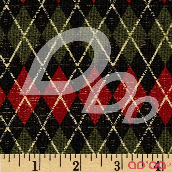 Argyle Black/Multi