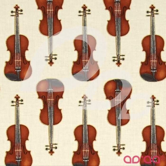 Kaufman In Tune Metallic Violins Ivory
