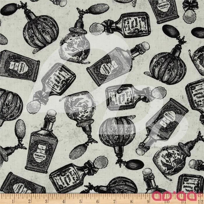 Ladies & Gentlemen Parfum Bottles Cream