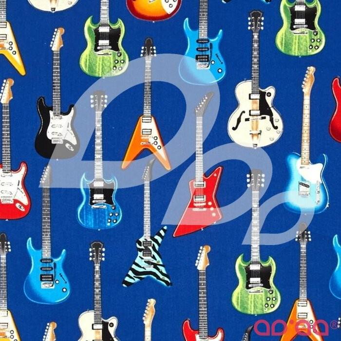 Kaufman In Tune Electric Guitars Blue