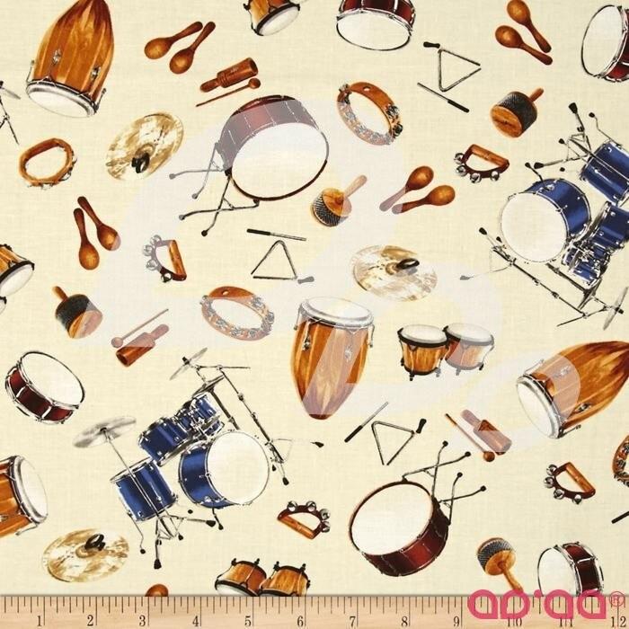 Kaufman In Tune Drum Sets Ivory