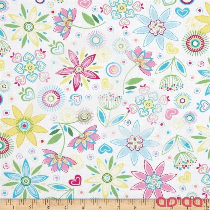 LuLu Large Floral Pink/Blue