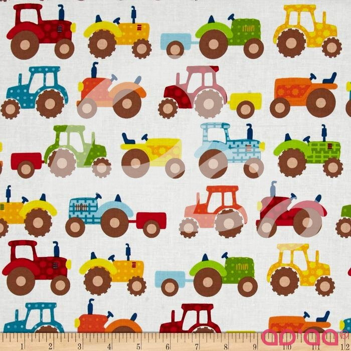 Apple Hill Farm Tractors Cream
