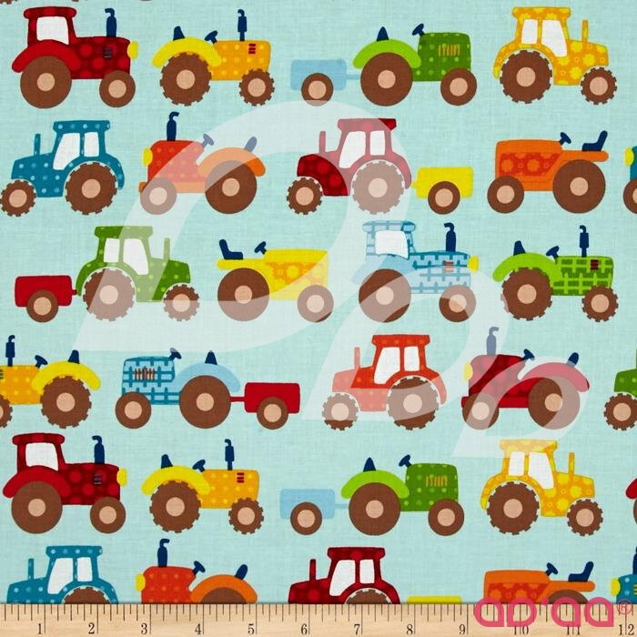 Apple Hill Farm Tractors Blue