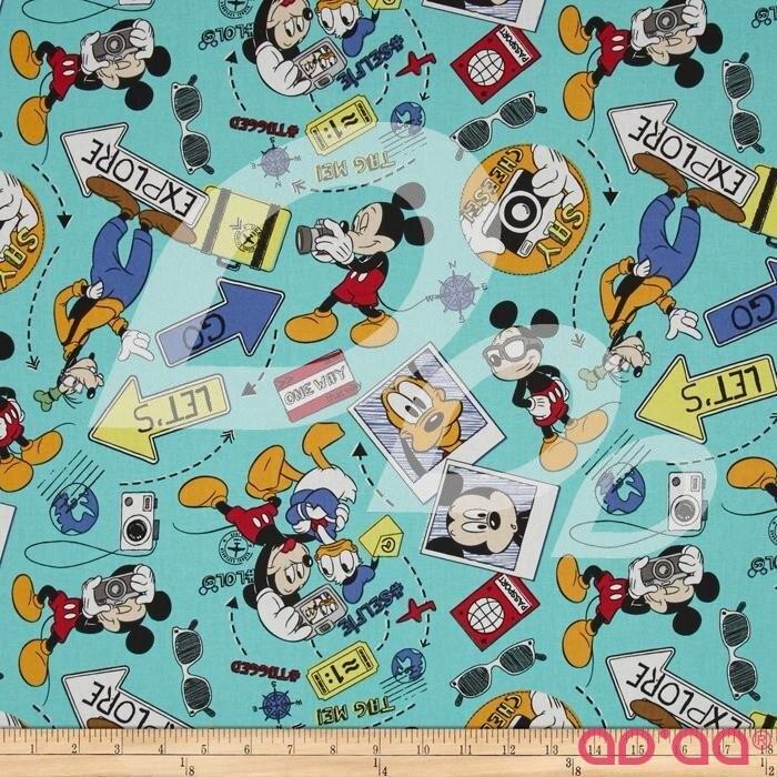 Disney Mickey Say Cheese Lets Go Explore Multi