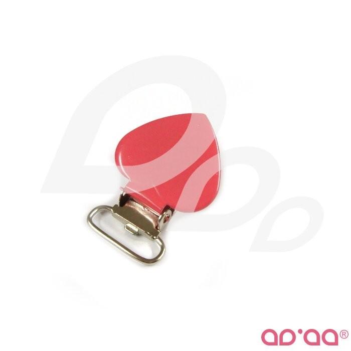 Mola 2cm – Coraçao rosa velho