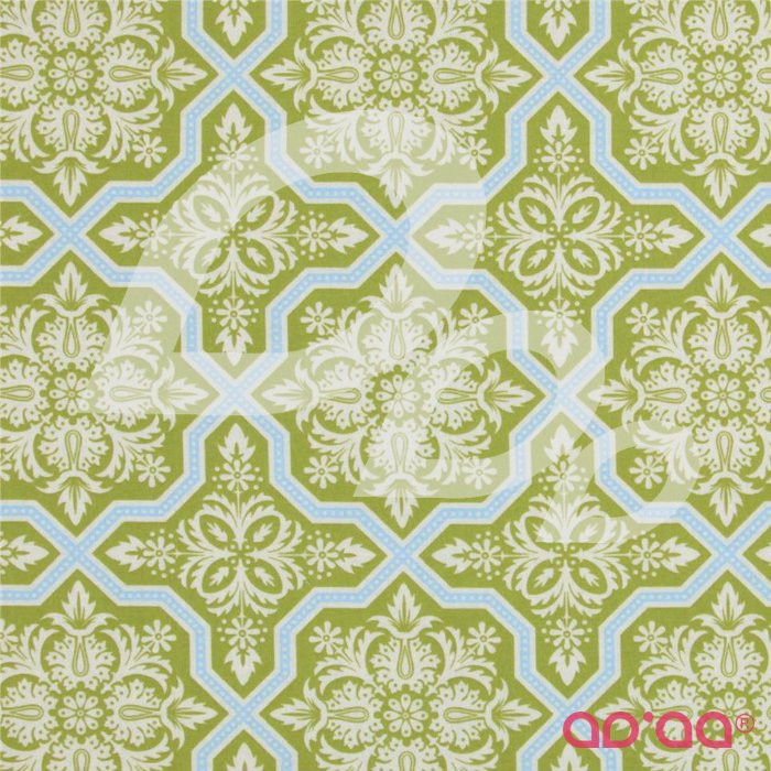 Heirloom Tile Flourish Green