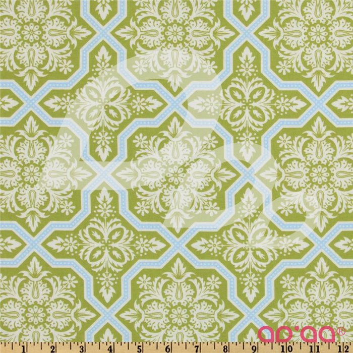Heirloom Tile Flourish Green