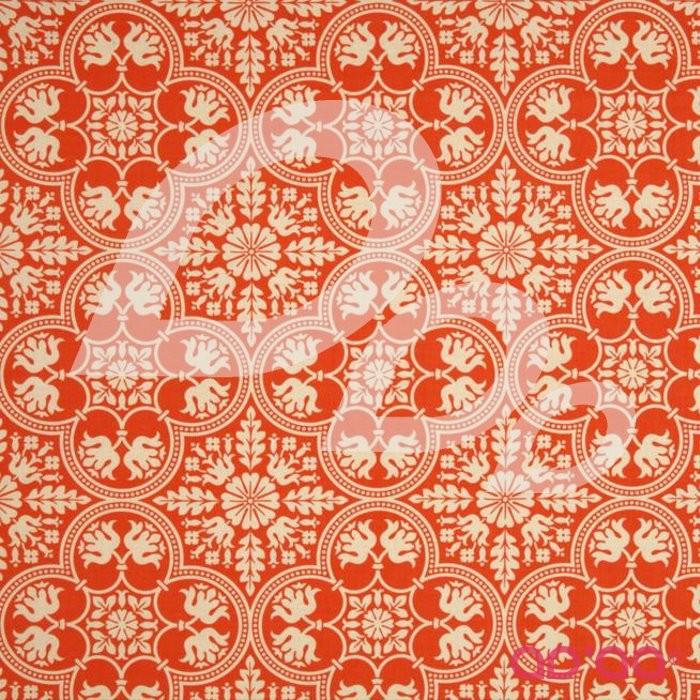 Notting Hill Historic Tile Tangerine