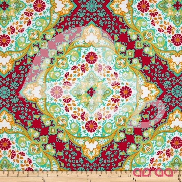 Notting Hill Kaleidoscope Poppy