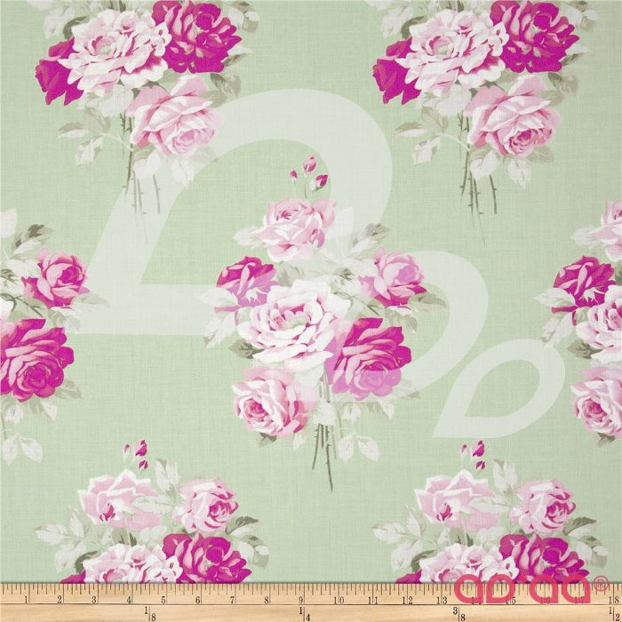 Slipper Roses Green