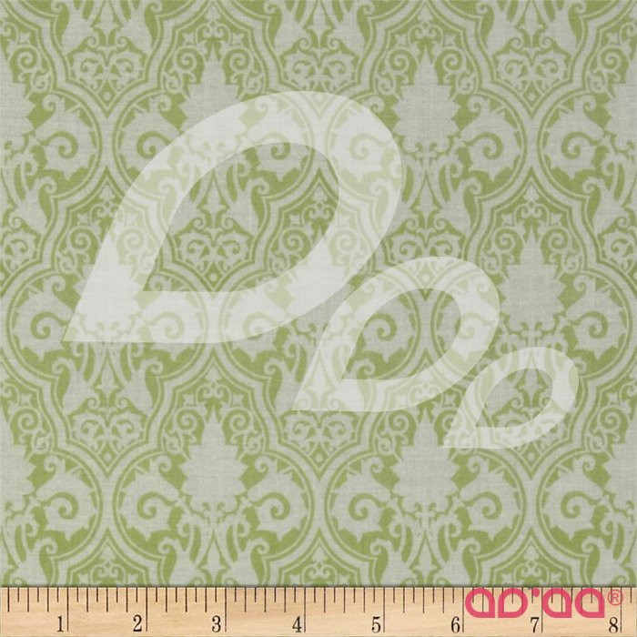 Sunshine Roses Damask Green