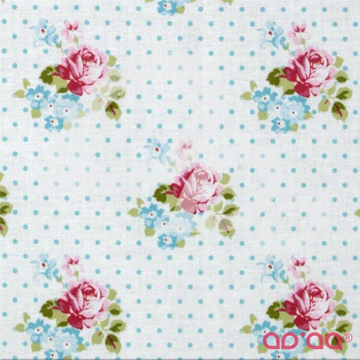Sunshine Roses Hanky Rose Blue