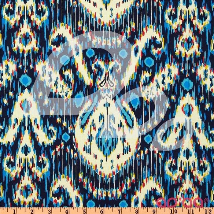 Lark Dreamer Kasbah Midnight Blue Fabric