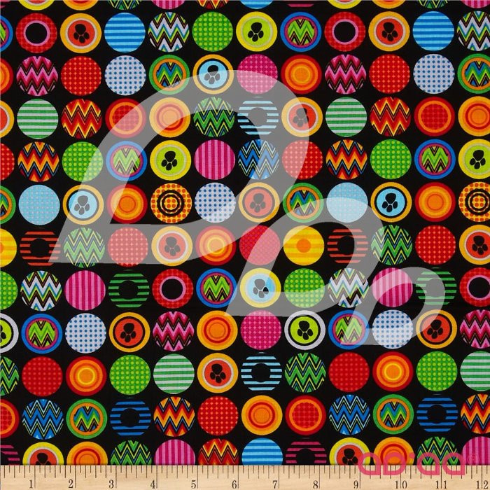 Kanvas Ziggy Cat Ziggy Dot Black
