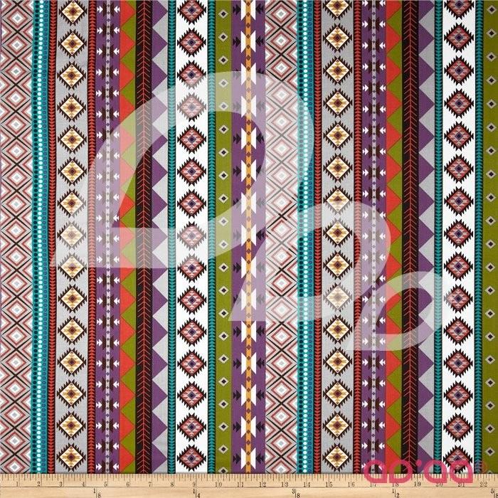 Native Sun Serape Stripes Charcoal