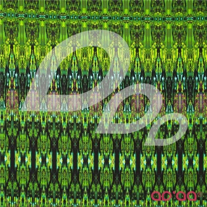 Fabrique-istan Ikat Plum/Lime