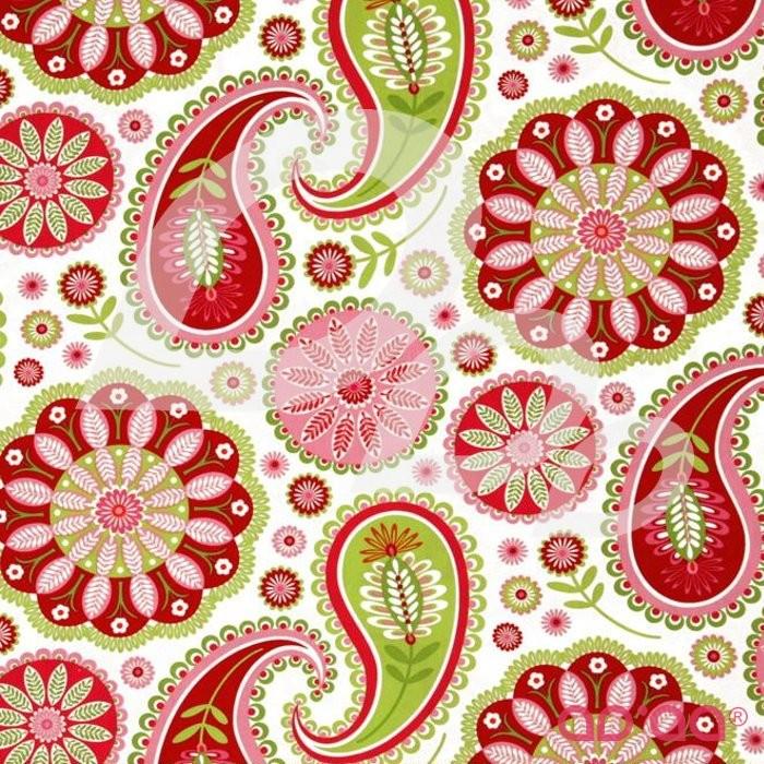 Gypsy Bandana Rose Gypsy Paisley White