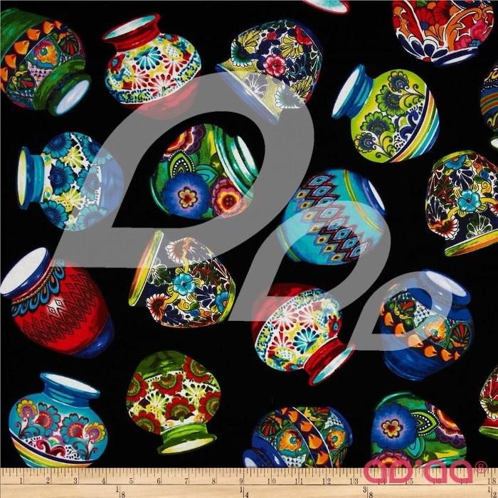 Kanvas Fiesta Pottery Multi