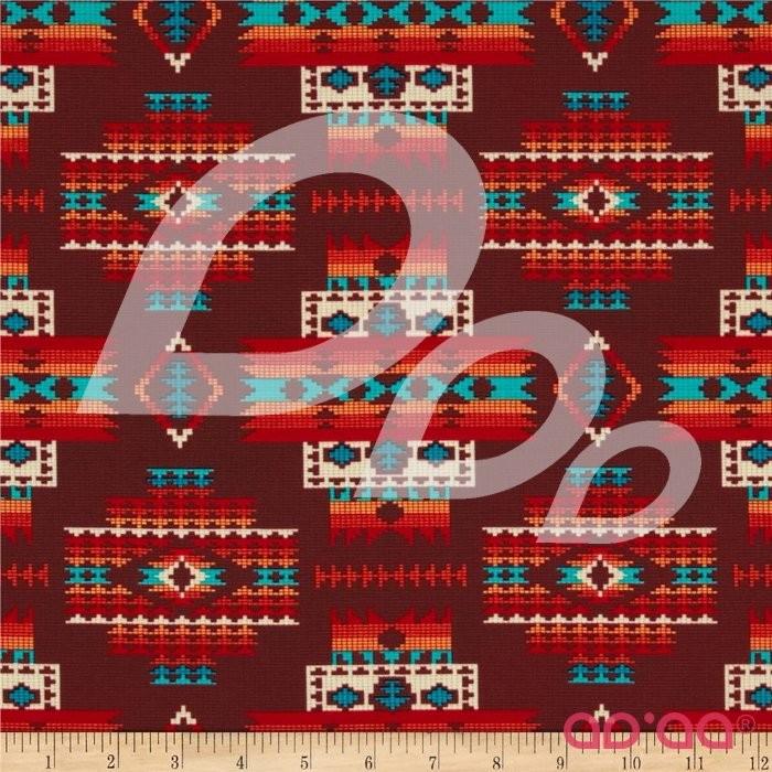 Tucson Beaded Blanket Terra Cotta