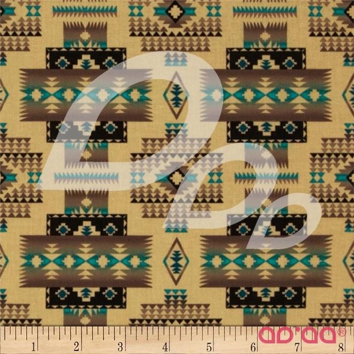 Tucson Blanket Sepia