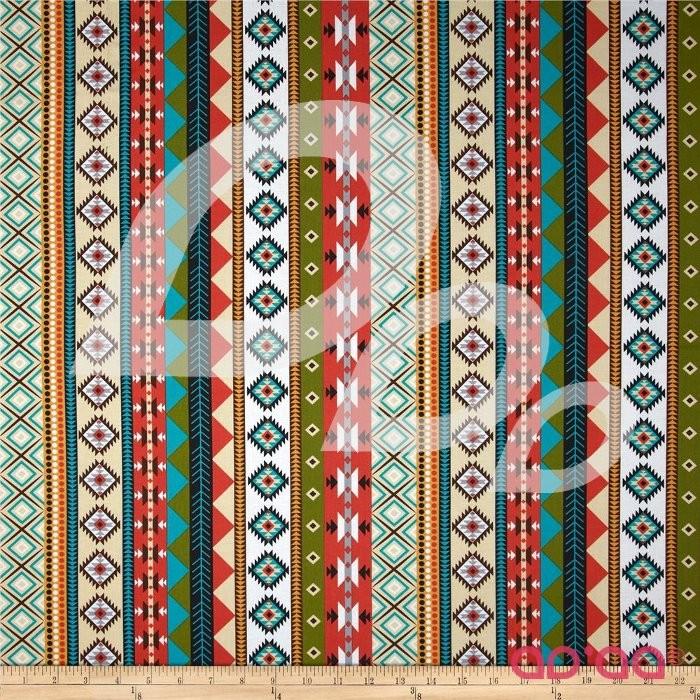 Native Sun Serape Stripes Cactus