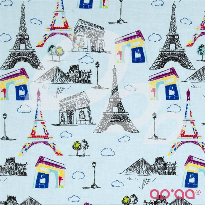 Pepe in Paris Main Blue