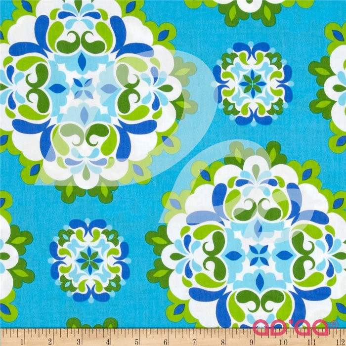 Kanvas Lili-fied Medley Turquoise/Green