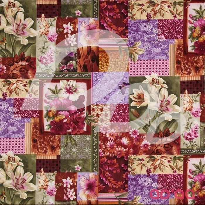 Flower Shop Floral Patchwork Magenta