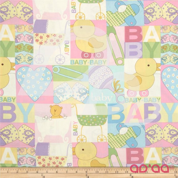 Baby Talk Baby Patch Pastel Pink