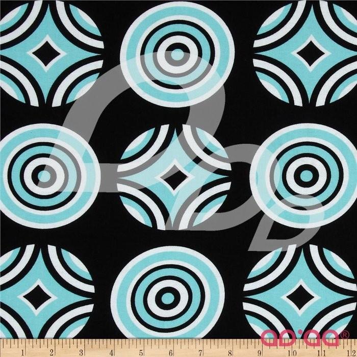 Kanvas Tiffany Collection Optic Coaster Black