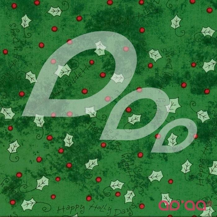 Happy Holly Days Holly Green